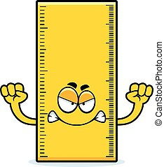 Angry Cartoon Ruler