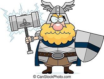 Angry Cartoon Thor
