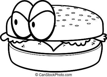 Angry Cheeseburger