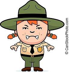 Angry Child Park Ranger