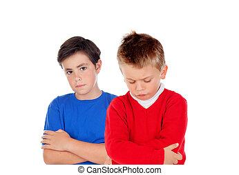 Angry children