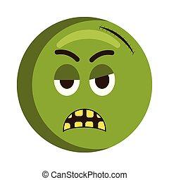 Angry injured emoji icon