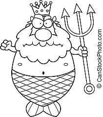 Angry King Neptune