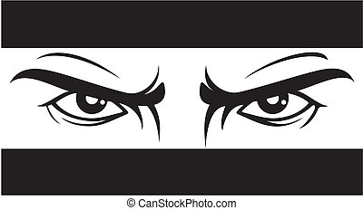 angry look (Bad eyes)