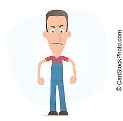 Angry mechanic