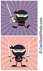 Angry Ninja Collection Set