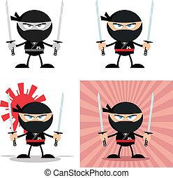 Angry Ninja Warrior 3 Collection