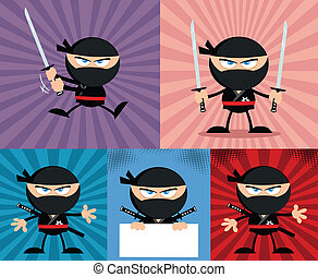 Angry Ninja Warrior 4 Collection