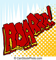 Angry Roar Sound Effect Text - An image of angry roar sound...