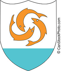 Anguilla coa - Various vector flags, state symbols, emblems ...