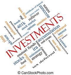 angular, concepto, palabra, inversiones, nube
