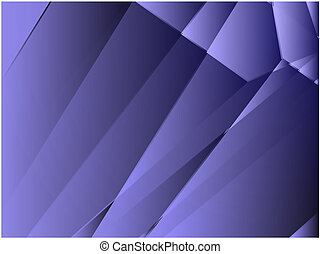 Angular crystal abstract design