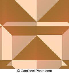 Angular geometry - Smooth angular 3d geometric abstract...