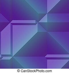 Angular geometry - Smooth angular 3d geometric abstract ...