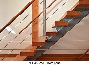 Angular Stairs - Set of modern stairs