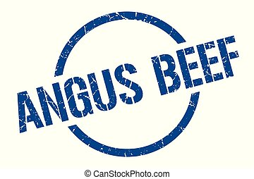 angus beef stamp - angus beef blue round stamp