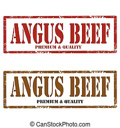 Angus Beef-stamps