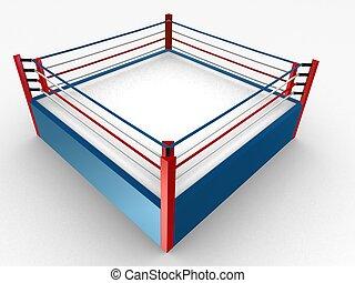 anillo, boxeo