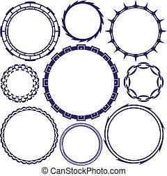 anillo, diseños