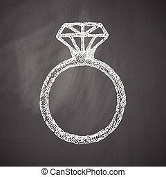 anillo, icono