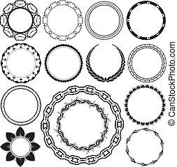 anillos, y, circlets
