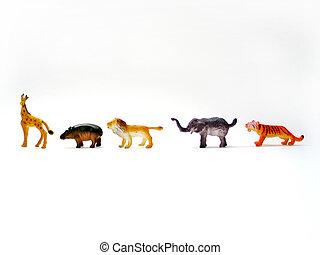 animais brinquedo
