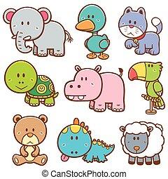 animais