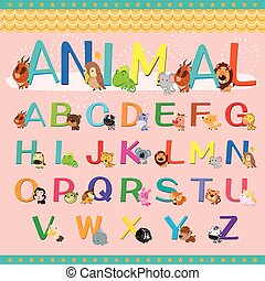 animal alphabet collection