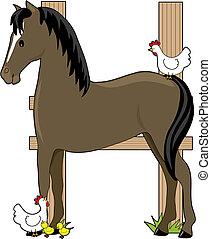 Animal Alphabet Horse