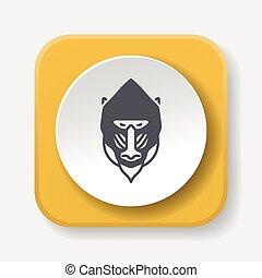 animal Baboon icon