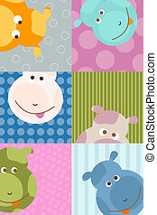 animal background - cute little bear background