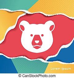 animal bear icon