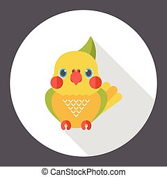 animal bird flat icon