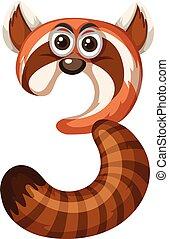Animal cartoon number three