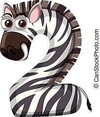 Animal cartoon number two