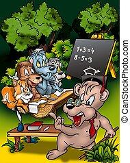 Animal Classroom