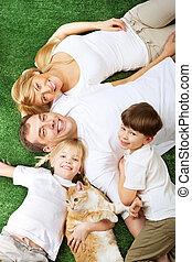 animal estimação, família