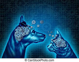 animal estimação, psicologia