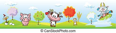 animal farm banner