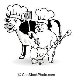animal farm cooking