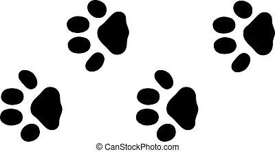 rabbit tracks vector clip art royalty free 183 rabbit tracks rh canstockphoto com