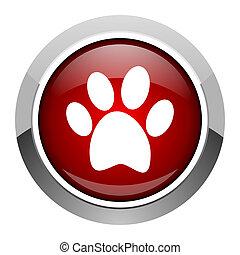animal footprint icon
