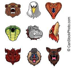 Animal Head Collection : Nine