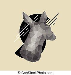 Animal head icon