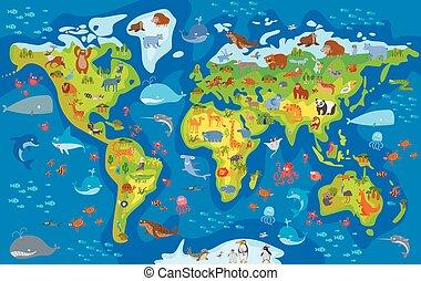 animal, mondiale