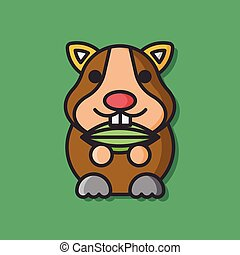 animal mouse vector icon