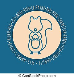 animal pet cartoon design