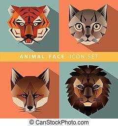 Animal Portrait Set