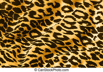 Animal print on fabric. Leopard, tiger. Look at my gallery...