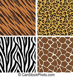 Animal Print Pattern Seamless Tiles